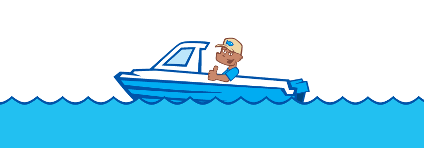 fishing in your new boat