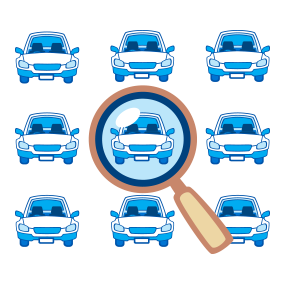 our vehicle locator looks for cars